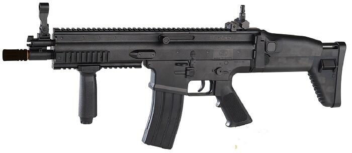 FN Scar-L Manuel Softgun, Sort