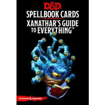 Dungeons & Dragons RPG - Xanathar's Guide to Everything Spellbook Cards
