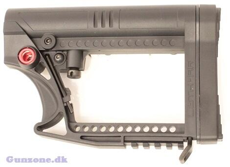 LUTH MBA-4 M4 STYLE airsoft kolbe -Sort