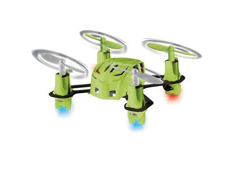 Mini Quad Copter Nano Quad Green er en fed lille drone