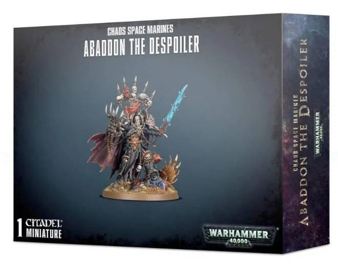 Abaddon the Despoiler er den ultimative Chaos Space Marine karakter