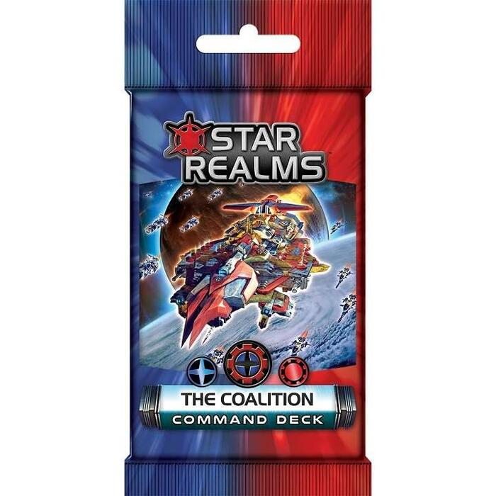 Star Realms Command Deck – The Coalition er en udvidelses deck