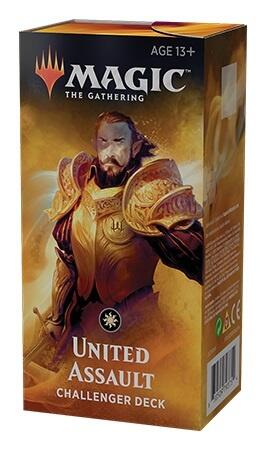 United assault challenger deck 2019 er et mono hvid deck
