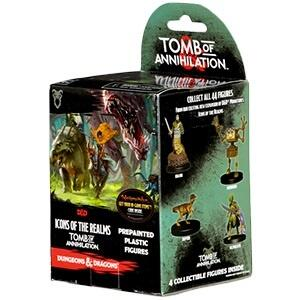 D&D Icons of the Realms: Tomb of Annihilation - Booster som kan give nogen fede figurer