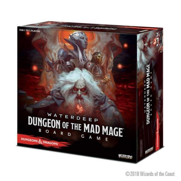 D&D Waterdeep Dungeon of the Mad Mage Adventure System Board Game Standard Edition har masser af eventyr