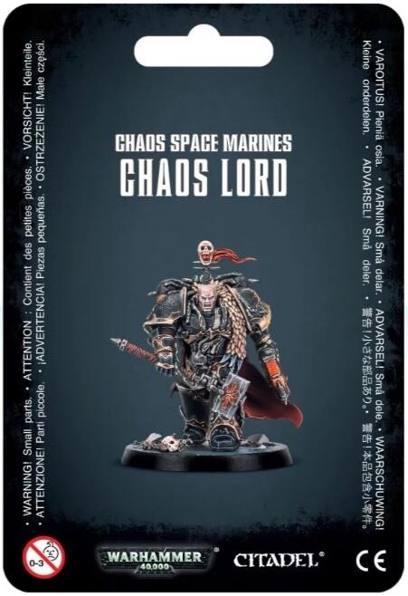 Chaos Space Marines Chaos Lord - krigsherren kendt fra Blackstone Fortress
