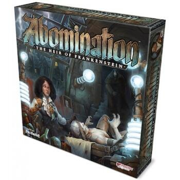 Abomination: The Heir of Frankenstein har fedt art work