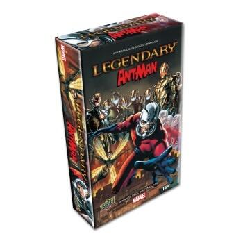 Legendary: Marvel Ant-Man -  Small Box Expansion er en lille udvidelse på 100 kort