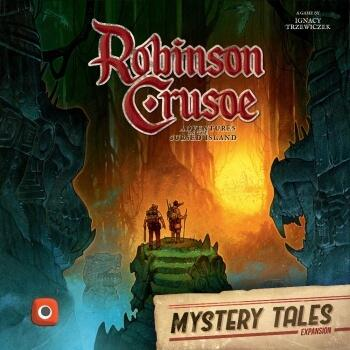 Robinson Crusoe Mystery Tales  er anden udvidelse i series Adventures on the cursed Island