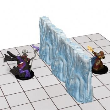 Dungeons & Dragons - Spell Effects: Wall of Fire & Wall of Ice er virkelig fede vægge