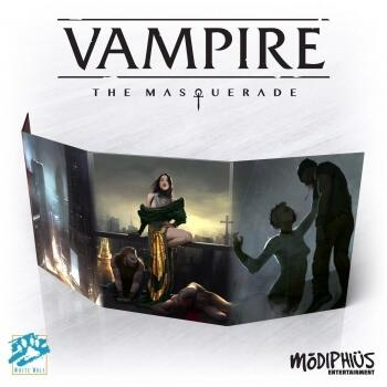 Vampire: The Masquerade 5th Edition Storyteller Screen er en fed storyteller screen