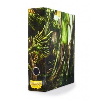 Dragon Shield Slipcase Binder - Green art Dragon er en flot mappe til magic kort