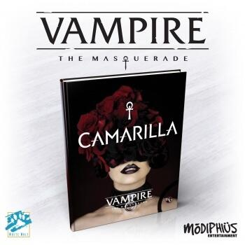 Vampire: The Masquerade 5th Edition Camarilla Book er en fed bog
