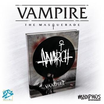 Vampire: The Masquerade 5th Edition Anarch Book er en fed bog