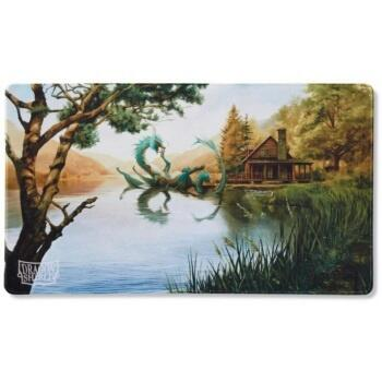 Vildt flot Dragon Shield Play Mat med en Summer Dragon