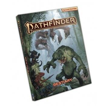 Denne Pathfinder RPG - Bestiary rollespilsbog er 2nd Edition