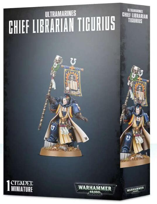 Warhammer 40K Chief Librarian Tigurius