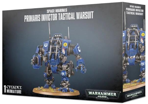 Primaris Invictor Tactical Warsuit er en ny dreadnought-klasse enhed