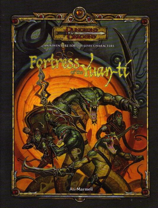 Fortress of the Yuan-ti er et 3.5th edition eventyr til 6. level