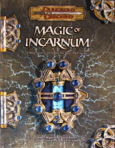 Magic of Incarnum er en bog til 3.5th Edition D&D