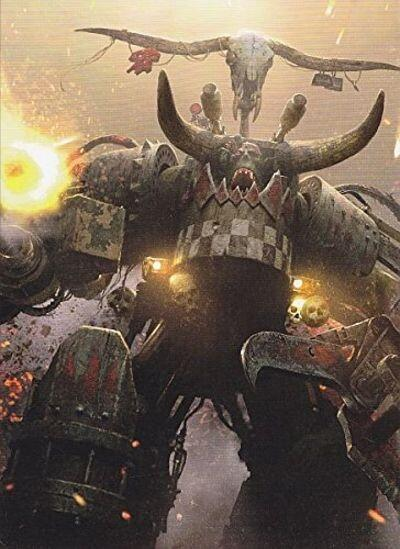 Warhammer 40,000 - WAAAGH! Ghazghkull Codex Supplement - 2014 edition full art