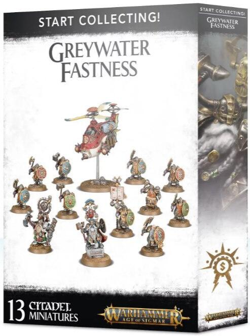 Start Collecting! Greywater Fastness - Kernen til duardin centreret Cities of Sigmar hær