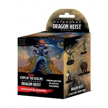 D&D Icons of the Realms - Waterdeep Dragon Heist Booster Brick