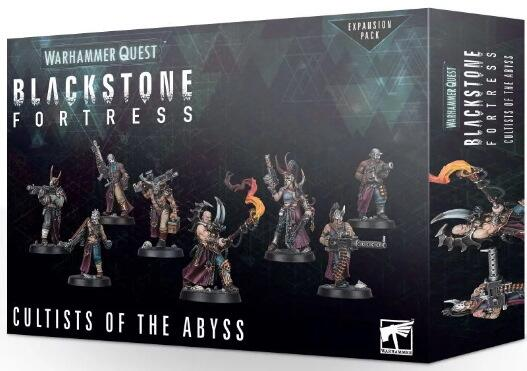 Warhammer Quest: Blackstone Fortress - Cultists of the Abyss - Ekstra chaos kultister til dit spil!
