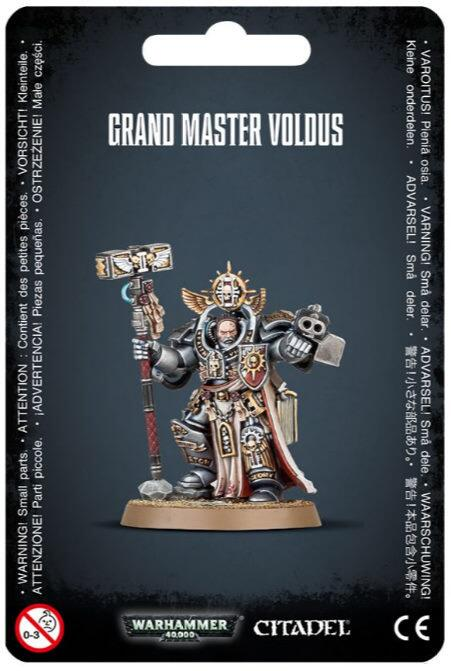Grand Master Voldus - En legendarisk Grey Knights leder
