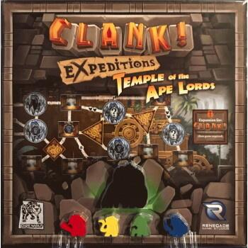 Clank! Expeditions: Temple of the Ape Lords - Udforsk Ape Lords' tempel i denne udvidelse