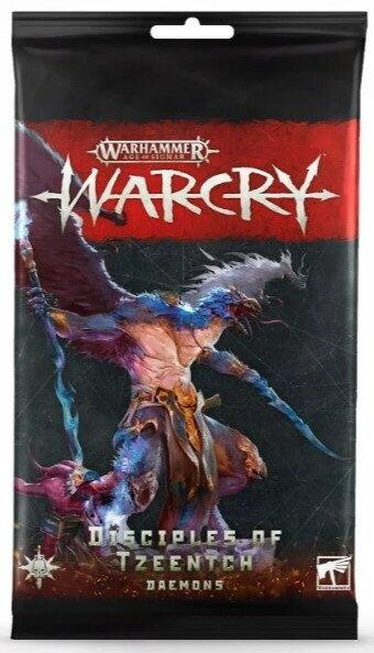Warcry: Disciples of Tzeentch Card Pack - Bring Skæbnens Arkitekts håndlangere til the Eightpoints