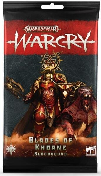 Warcry: Blades Of Khorne Bloodbound Card Pack - Indtag the Eight Points med Khornes dødelige tilbedere