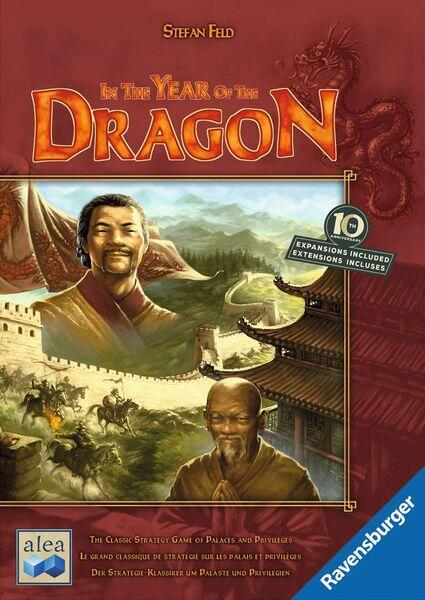 In the Year of the Dragon: 10th Anniversary - grundspil med 2 udvidelser til