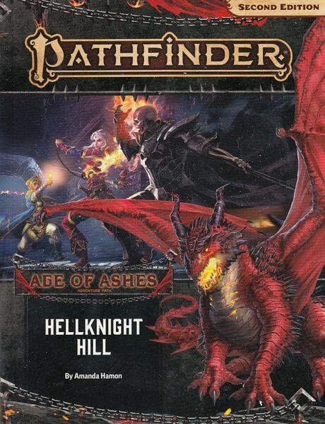 Pathfinder - Age of Ashes 1 af 6 - Hellknight Hill - Starten på den første kampagne til Second Edition
