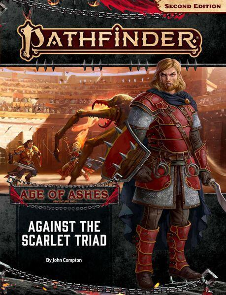 Pathfinder - Age of Ashes 5 af 6 - Against the Scarlet Triad - Konfronter slavehandlerne i storbyen Katapesh