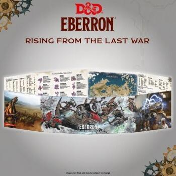 D&D: Rising from the last war - Eberron DM Screen