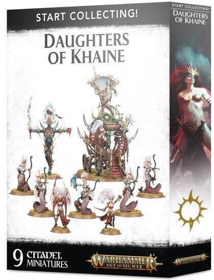 Start Collecting! Daughters of Khaine - Start eller udvid en hær af Khaines disciple med dette sæt