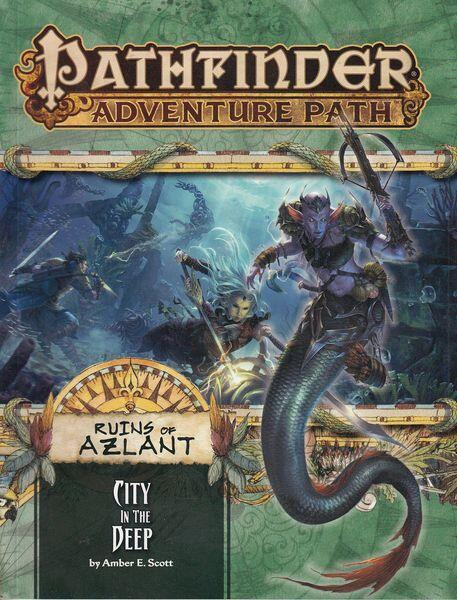 Pathfinder - Ruins of Azlant 4 af 6 - City in the Deep - Udforsk en by befolket af merfolk