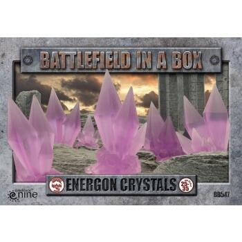 Battlefield In A Box - Energon Crystals - Purple - x6 30mm