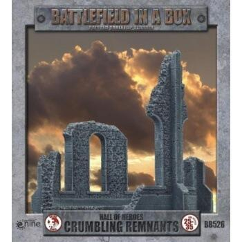 Battlefield In A Box - Gothic Battlefields - Crumbling Remnants x2 - 30mm