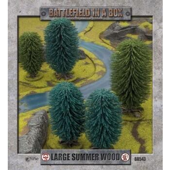 Battlefield In A Box - Large Summer Wood x1