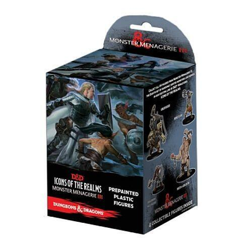 D&D Icons of the Realms - Monster Menagerie 3 - pakke med 3 forskellige figurer
