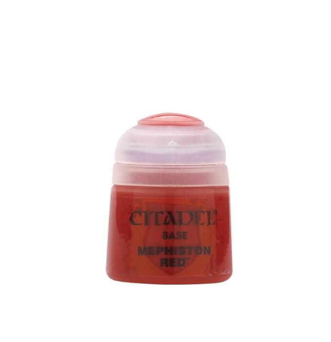 Citadel Colour Base Paint Mephiston Red 12 ml