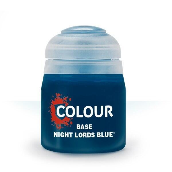 Citadel Colour Base Paint Night Lords Blue 12 ml