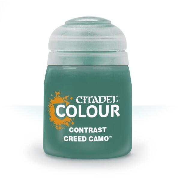 Citadel Colour Contrast Paint Creed Camo 18 ml til Warhammer