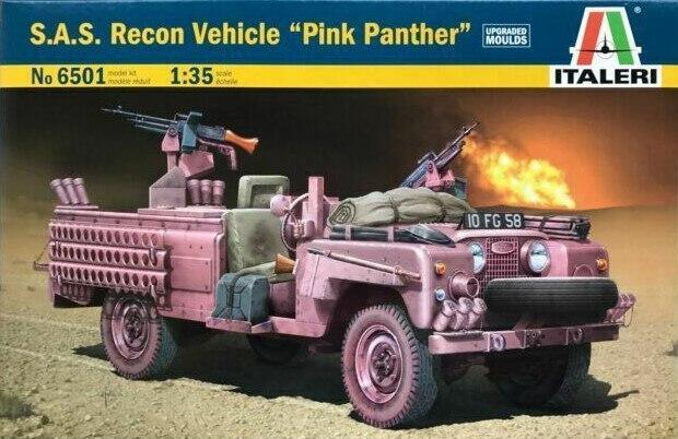 "S.A.S Recon Vehicle ""Pink Panther"" hobby byggesæt er i skala1/35"
