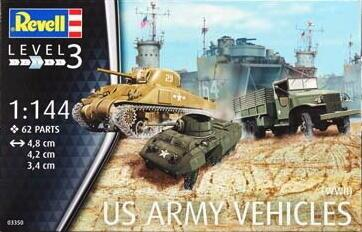 US Army Vehicles WWII 1/144