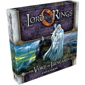 Lord of the Rings LCG: The Voice of Isengard Deluxe Expansion bringer heltene til Saruman den Hvides land