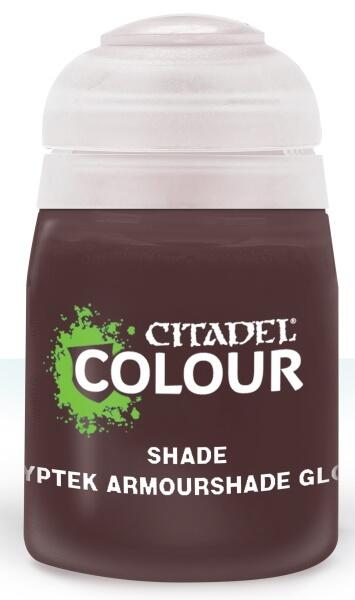 Citadel Colour Shade Paint Cryptek Armourshade Gloss 24 ml til maling af Warhammer