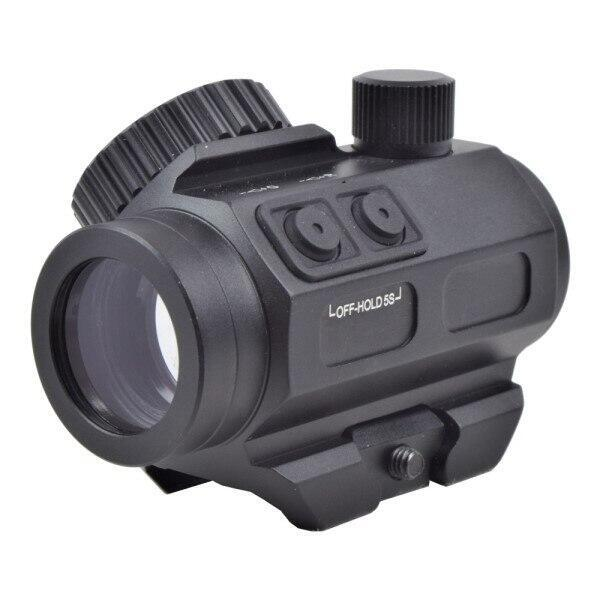 Lækkert micro airsoft red dot sigte